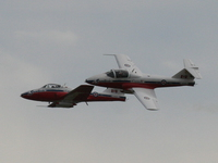 canadian forces snowbirds - two snowbirds formation
