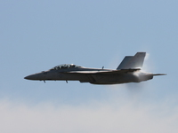 view--f18 super hornet and sonic boom Abbotsford, British Columbia, Canada, North America
