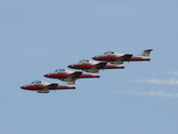 view--snowbirds formation Abbotsford, British Columbia, Canada, North America