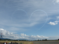 view--heart of snowbirds Abbotsford, British Columbia, Canada, North America