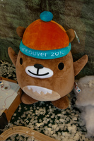 quatchi the olympic mascot Abbotsford, British Columbia, Canada, North America