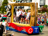 ctv float Abbotsford, British Columbia, Canada, North America
