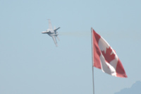 super hornet and canadian flag Abbotsdord, British Columbia, Canada, North America