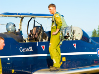 canadian airforce pilot Abbotsdord, British Columbia, Canada, North America