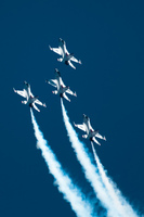 view--usaf thunderbirds Abbotsdord, British Columbia, Canada, North America