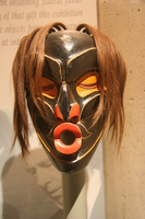 black mask from native indian