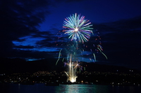 hsbc celebration of light Vancouver, British Columbia, Canada