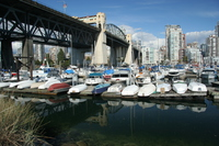 under the burrard bridge