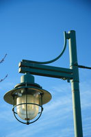 view--lamp pole near ambleside park