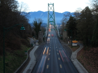 lion gate bridge