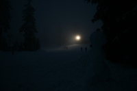 mount seymour at night