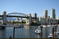 barrack bridge from granville island