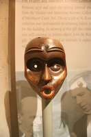 a mask from walter and marianner koerner