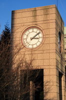 clock tower on hamilton street