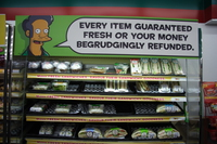 apu said every item guaranteed fresh