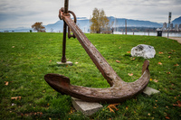 Jericho Beach Anchor Abbotsdord, British Columbia, Canada, North America