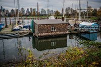 Jericho Beach floating house Abbotsdord, British Columbia, Canada, North America
