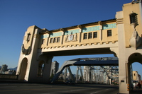 the gate of burrard bridge