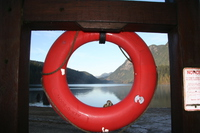 life saver and bunzen lake