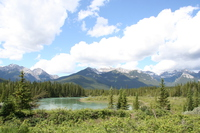lake near bow valley parkway