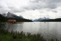 view--maligne lake