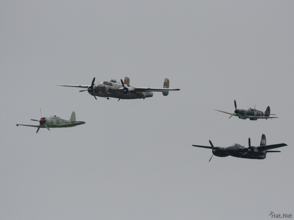 b-25 mitchell diamon formation