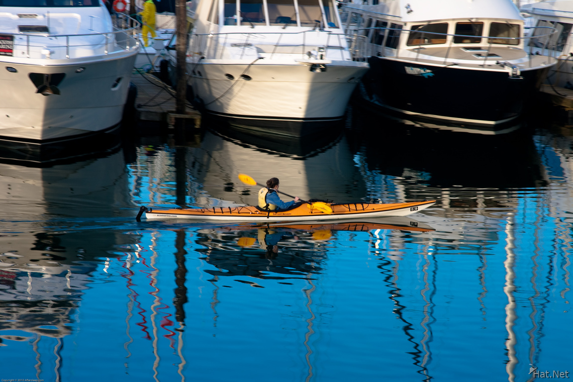 canoeing in false creek