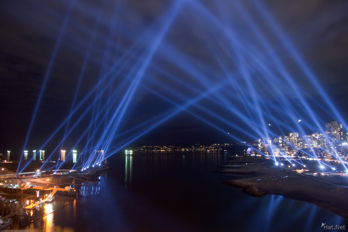vectorial elevation light display installation