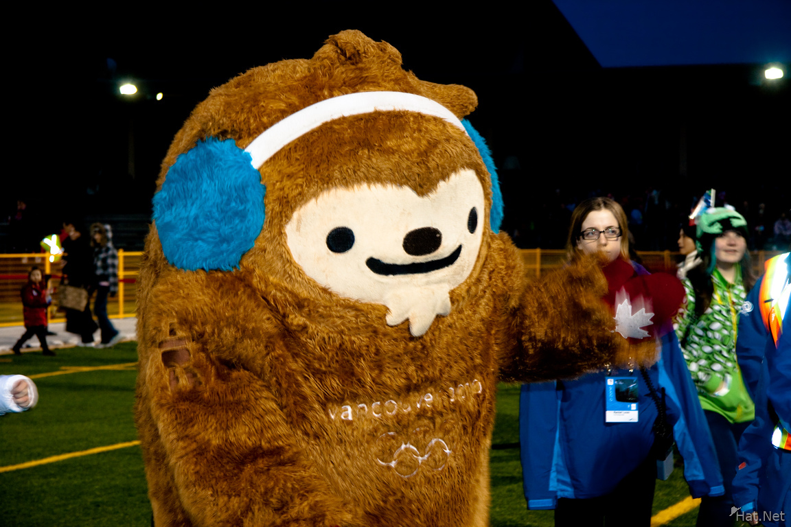 winter olympic mascot quatchi