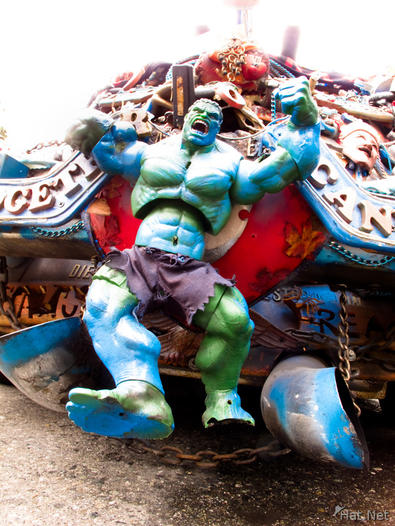 the hulk on beetle