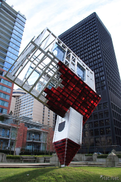 view--dennis oppenheim-device to root out evil
