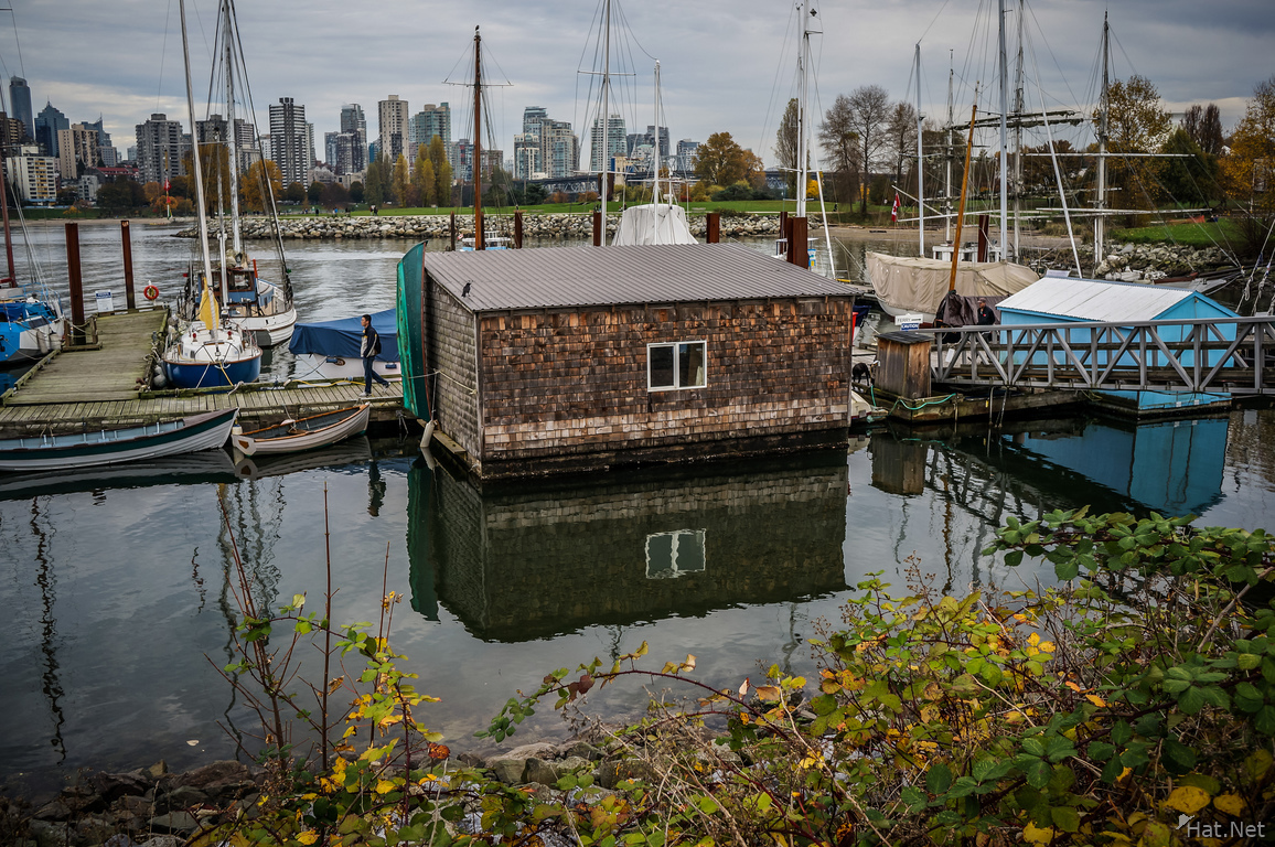 Jericho Beach floating house