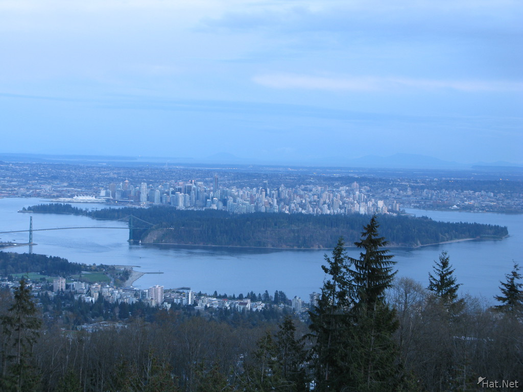 stanley park from cypress